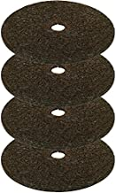 Rocky Mountain Tree Mulch Ring Weed Preventer - Recycled Heavy Duty Rubber - Mower Safe - No landscape staples needed - Natural look - Equal water seepage to tree - Easy install (4, 24-inch)