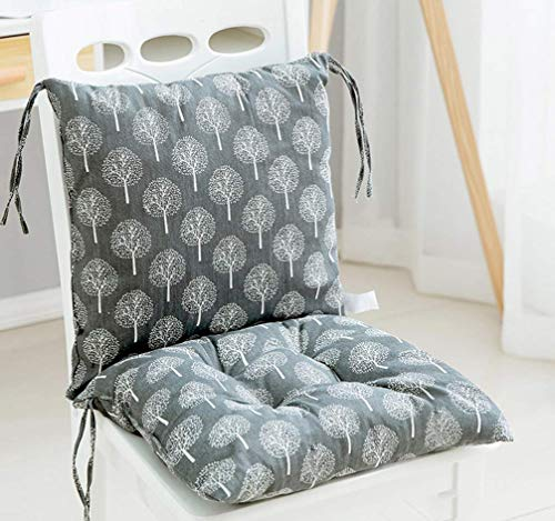 Square Chair Pad Booster Thick Seat Car Seat Cushion Chair Padded Cushion Chair Seat Pads Indoor Outdoor Splittable Washable (C)