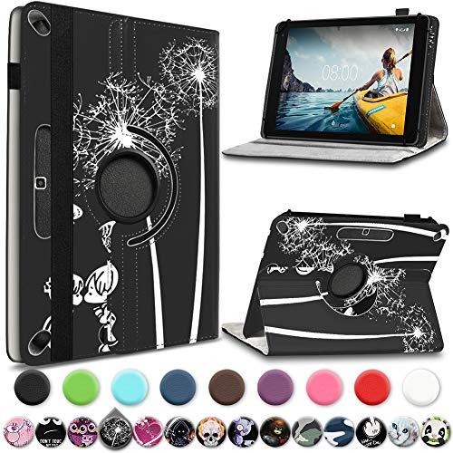 UC-Express Medion Lifetab E10414 E10604 E10412 E10511 E10513 E10501 Tablet Hülle Tasche Schutzhülle Cover 360° Drehbar, Farbe:Motiv 9
