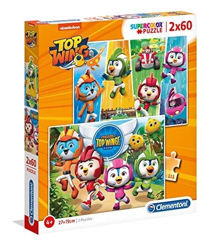 2 Puzzles 60 Piezas Top Wing (21610.9)