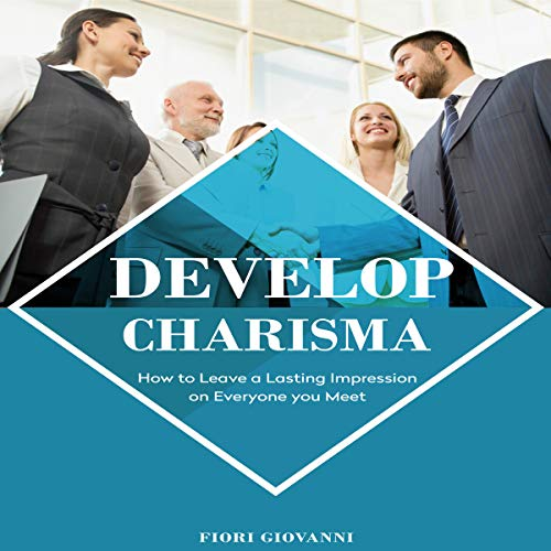 Develop Charisma audiobook cover art