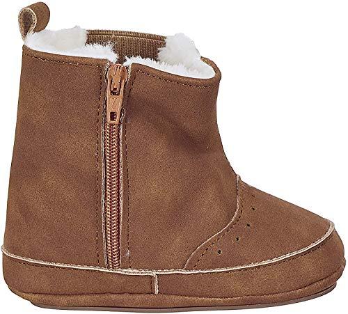 Sterntaler Mädchen Baby-Schuh Stiefel, Braun (Haselnuss 936), 21/22 EU (18-24M)