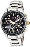 [セイコーウォッチ] 腕時計 アストロン ソーラーGPS衛星電波 デュアルタイム表記 チタンモデル サファイアガラス SBXB073 メンズ シルバー