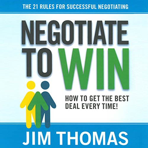 Negotiate to Win audiobook cover art
