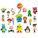 Pantyshka Toy Story Action Figures – Set of 17 Mini Figurines for Kids – Collectible Toy Store Cake Toppers – Great Party Favors for Toddlers – Action Figure Set with Keychain – Toy Story Birthday