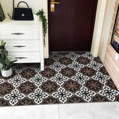 CPAZT Tapijtzachte Pvc stalen draad deurmat deurmat tapijt ingang op maat gemaakt Diy waterdicht antislip kunststof vloermat