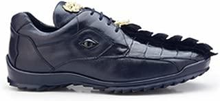 Vasco Genuine Hornback Crocodile and Soft Calf Oxford Shoe