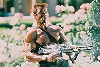 Arnold Schwarzenegger Commando Barechested 18x24 Poster