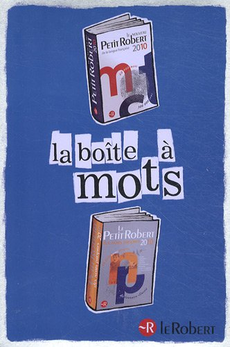 La boîte à mots: Coffret Noël : Le nouveau Petit Robert de la langue française ; Le Petit Robert des noms propres