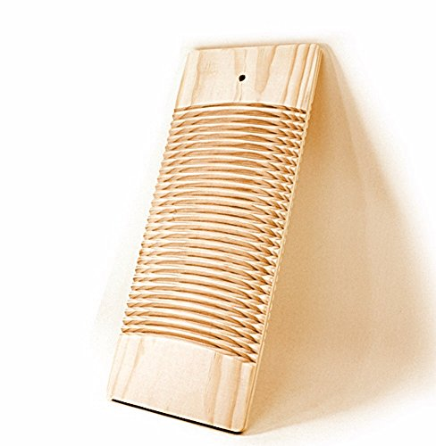 Living Plus Natural Wooden Washing Clothes Washboard for Laundry board