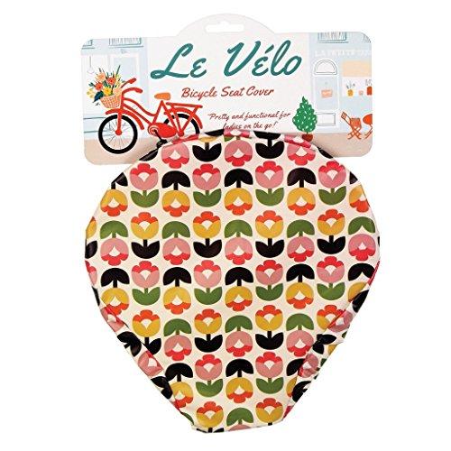 Fahrradsattelbezug, verschiedene Designs zur Auswahl, damen, Tulip Bloom