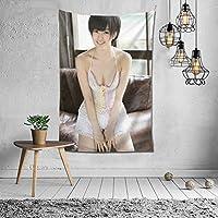 2021 山本 彩(やまもと さやか) タペストリー ファッションの絶妙な印刷リビングルームの入り口寝室の背景壁の装飾カスタマイズされた壁掛け布 (152*102cm)