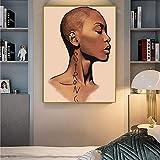 GJQFJBS Leinwanddruck Abstrakte Mädchen Kunstdrucke Wand