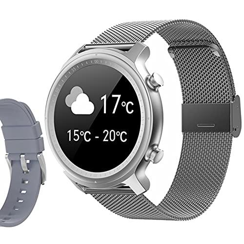 ZGNB Q1 Smart Watch, Ladies BT Call/Sport Podómetro/Monitoreo de frecuencia cardíaca/Seguimiento de sueño/Relojes Relojes Inteligentes,B