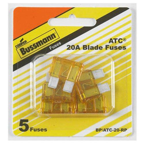 Bussmann (BP/atc-20-rp) ATC fusibile piatto, (confezione da 5)