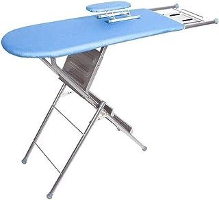 Table à repasser Banque de repassage bleu / gris, planche à repasser en métal, élargissement de la planche à repasser Toil...