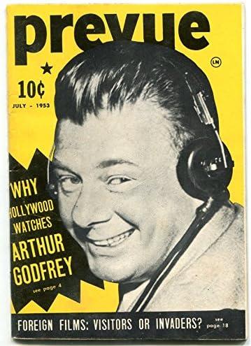 Max 60% OFF Prevue Max 47% OFF Magazine July 1953- Audrey Godfrey- Arthur Hepburn
