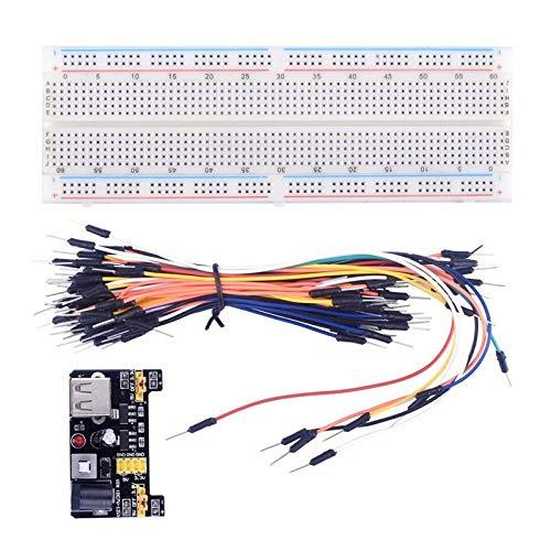 BianchiPamela MB102 Breadboard Power Module Solderless Prototype Bread Board Kit PCB Test