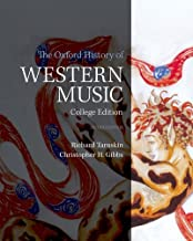Best the oxford history of western music college edition Reviews