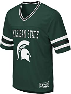 Colosseum Mens Michigan State Spartans Football Jersey