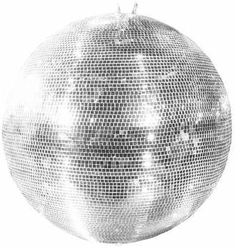 Größe Discokugel GLIX mit Echtglasfacetten,  00cm  , silber - Spiegelkugel - 70er 80er Jahre Disco Effekt - showking