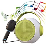 Kids Karaoke Machine with Microphone for Girls Boys Toddlers Portable Bluetooth Speaker with Radio Children Karaoke with Voice Changer Birthday Festival Gifts