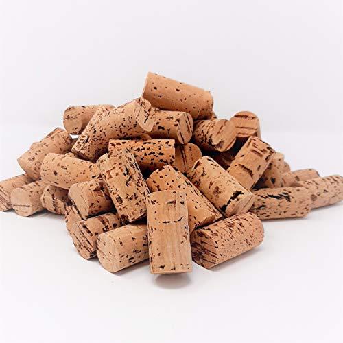 G-Cork Weinkorken - Stöpsel - Flasche - Basteln - Dekoration - Bricolage - 24 mm x 45 mm (dunkel, 50)