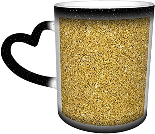 Zampa Simbolo astratto Tazza che cambia colore nel cielo Tazze sensibili al calore in ceramica Tazza di scolorimento Acqua Tazze di caffè Magia Arte divertente Regali personalizzat