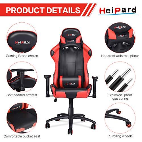 HeiPard Gaming Stuhl Racing Stuhl Bild 2*