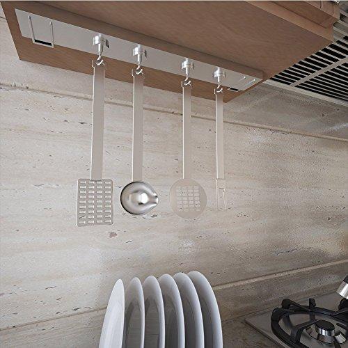 Minaoマグネットフック磁石強力5個入垂直耐荷重35kg金属製直径3.2cmキッチン用オフィス用業務用玄関倉庫壁掛け収納フックシルバー