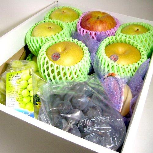 果物屋さんの旬のフルーツセット化粧箱 約4kg  竹バージョン