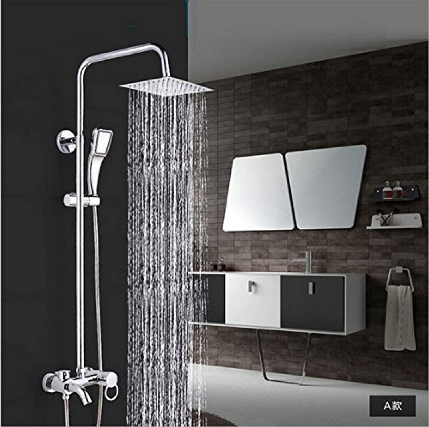 The Bathroom All Three Squares Three Functions Shower Shower Shower Hot Water