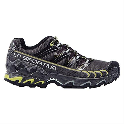La Sportiva Men's Ultra Raptor GTX Trail Running Shoe, Grey/Green, 45 M EU