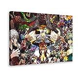 Anime My Hero Academia 9 - Póster de lona para dormitorio, deportes, paisaje, oficina, sala de regalo, 60 x 90 cm, estilo 1