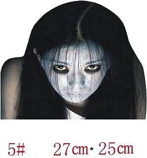 EGFheal Stickers Auto Styling Horror Ghost Gezicht Auto Achterruit Sticker Decor Voor Nacht Hoge Licht Beam Waarschuwing # 5