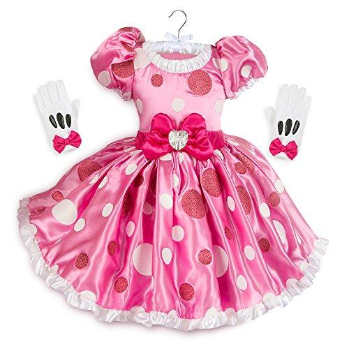 Disney Minnie Mouse - Disfraz para nios, color rosa