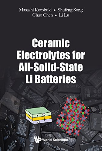 Ceramic Electrolytes For All-solid-state Li Batteries (Electrochemistry) (English Edition)