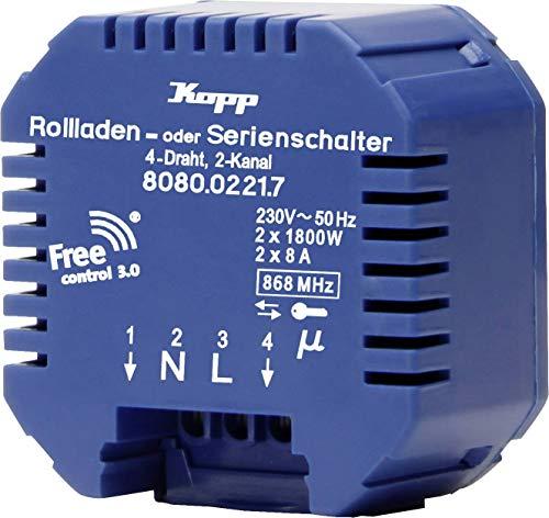 Kopp Free Control 3.0 Free Control 2-Kanal Empfänger