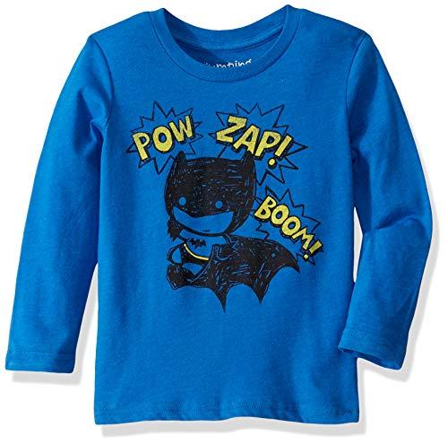 Jumping Beans Toddler Boys 2T-5T Batman Pow Graphic Tee 4T Blue