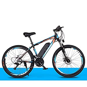 Electric Bikes GASLIKE Electric Bike for Adults 26″ 250W Electric Bicycle for Man Women High Speed Brushless Gear Motor 21-Speed Gear Speed E-Bike