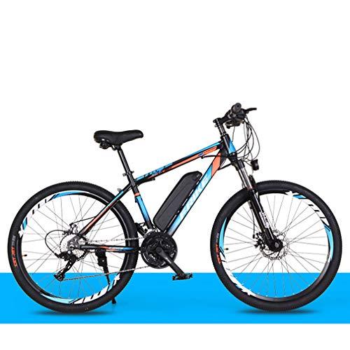 Yd&h 26 '' Electric Mountain Bike, Bicicletta Elettrica all Terrain con Rimovibile Grande capacità agli Ioni di Litio (36V 8AH 250W), 21 Speed Gear E modalità di Lavoro Tre,C