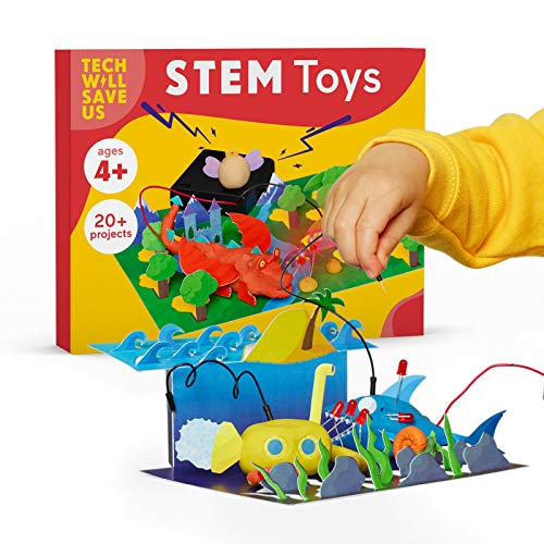 Tech Will Save Us Electro Dough Story Arts and Crafts Kit, Educational Toy for Boys and Girls Ages 4 - 10
