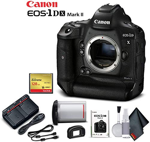 Canon EOS-1DX Mark II DSLR Camera (Body Only) (International Model) - Starter Kit