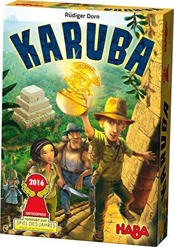 HABA- Karuba, Juego de Mesa, Multicolor (301895)