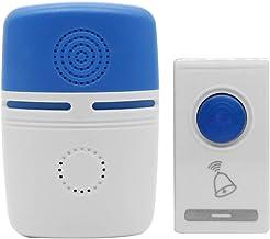 Deurbellen LED Deurbel Draadloze Deurbel Batterij Aangedreven Draadloze Home Security Smart Deurbellen b