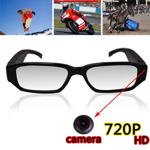's Werelds eerste HD kwaliteit video camera brillen DVR met encryptie leesschijf functie Video Spy Zonnebril Dvr Mobile Eyewear Video Camera Zonnebril, Voice en Video Recorder