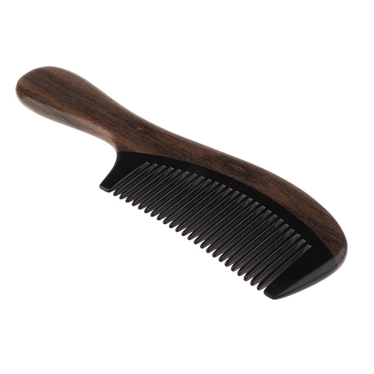マティス抑圧する気性Perfeclan くし コーム 木製 木製櫛 ヘア櫛 ヘアブラシ 頭皮マッサージ ヘアケア 頭皮に優しい ヘアケアツール