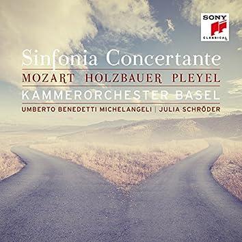 Mozart, Holzbauer & Pleyel: Sinfonia Concertante