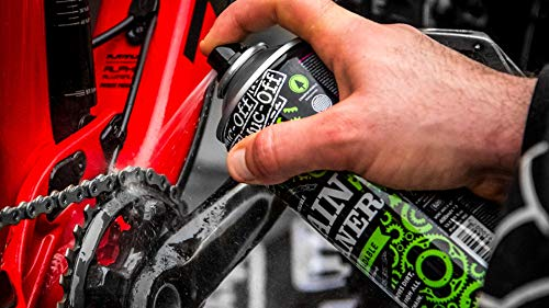 Muc-Off MUC950 Chain Cleaner, 400 Millilitres - Water-Soluble, Biodegradable Bike Chain Cleaner Spray - Suitable For All Bicycle Chains