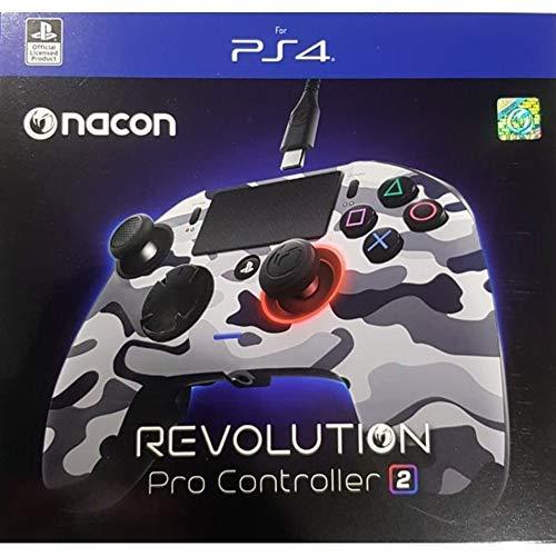 PlayStation 4 - Nacon Revolution Pro Controller, Camo Grey
